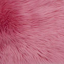 alfombra de pelo rosa fucsia