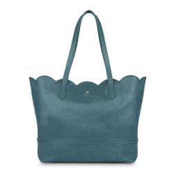 bolso shopper de diseño azul