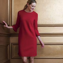 vestido rojo de diseño