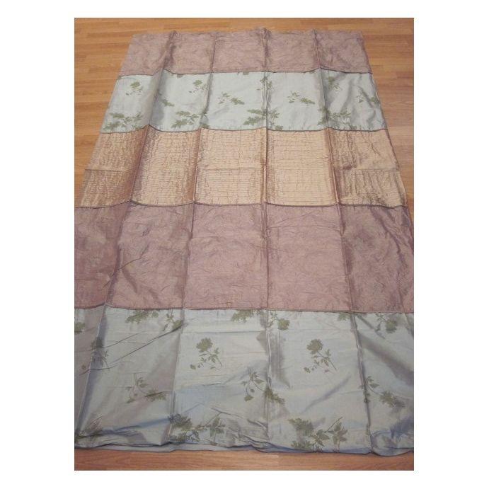 cortinas confeccionadas Lupine malva eau de nil