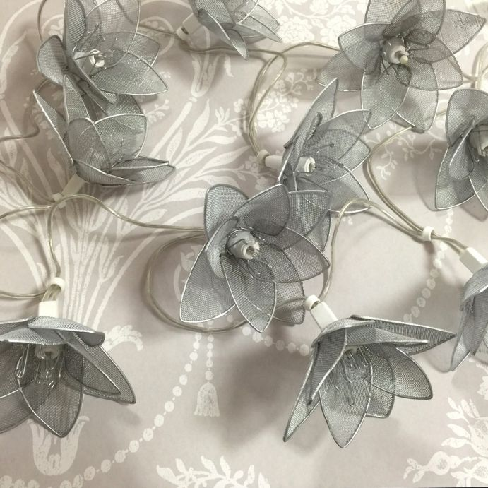 guirnalda luminosa 10 flores