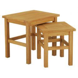 juego de dos mesas anidadas milton
