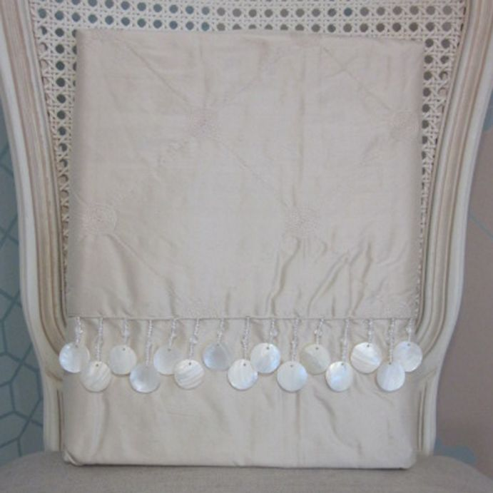 cortinas confeccionadas en seda lucille natural