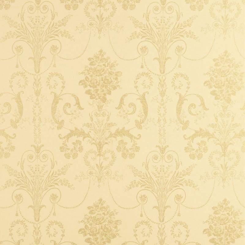 Comprar papel pintado josette dorado de dise o laura - Papel pintado laura ashley ...