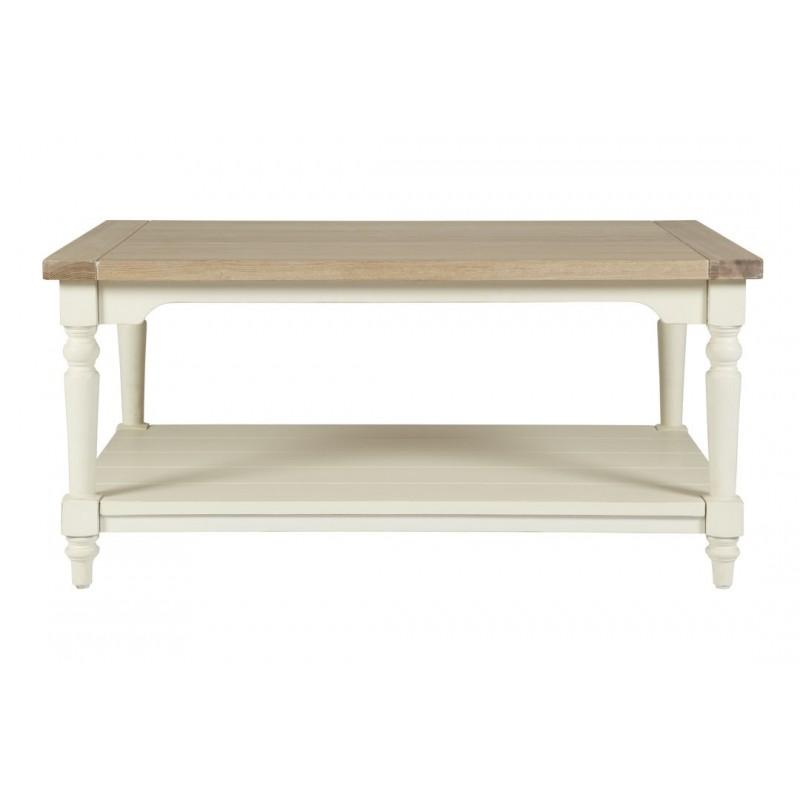 Comprar mesa de caf dorset blanco de dise o laura - Muebles laura ashley ...