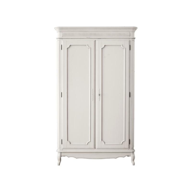 Inicio MUEBLES armario de puertas macizas provencale gris claro