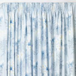 cortinas confeccionadas Sandford azul mar