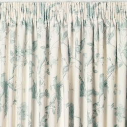 cortinas confeccionadas Summer Palace hueso azul v