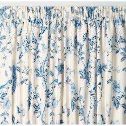 cortinas confeccionadas Summer Palace azul royal