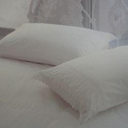 ropa de cama ella crema
