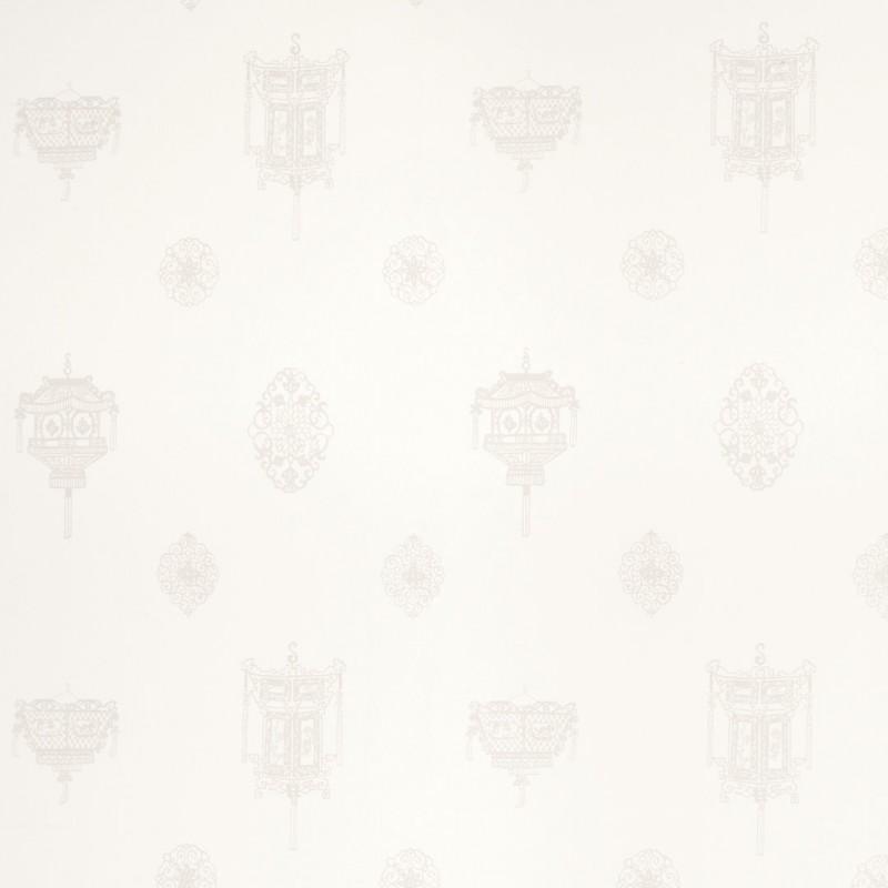 Comprar papel pintado pagoda blanco de dise o laura - Laura ashley papel pintado ...