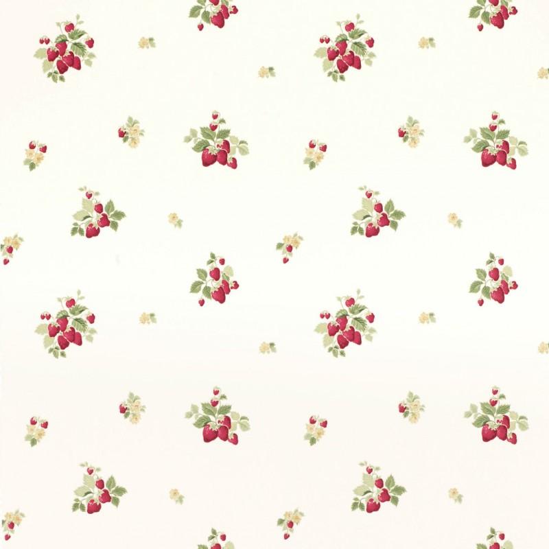 Comprar papel pintado strawberries ar ndano de dise o - Laura ashley papel pintado ...