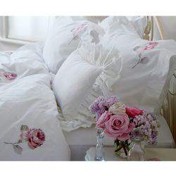 conjunto de cama bordada Rose (cama 135)