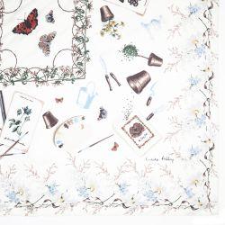 pañuelo de seda Gardening
