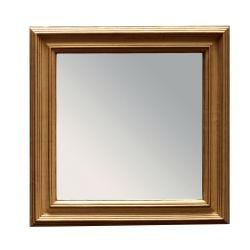 espejo Esther cuadrado dorado