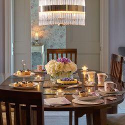 4 platos de postre Baroque