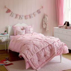 colcha infantil libby rosa