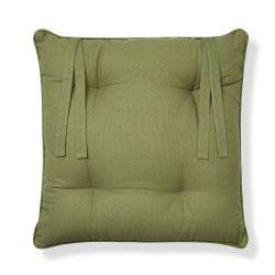 cojín para silla Living Wall verde seto
