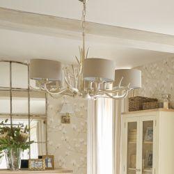 lámpara de techo Mulroy Antler de 5 brazos