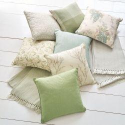 manta Herringbone Stripe verde seto