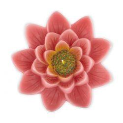 vela Flor de loto rosa