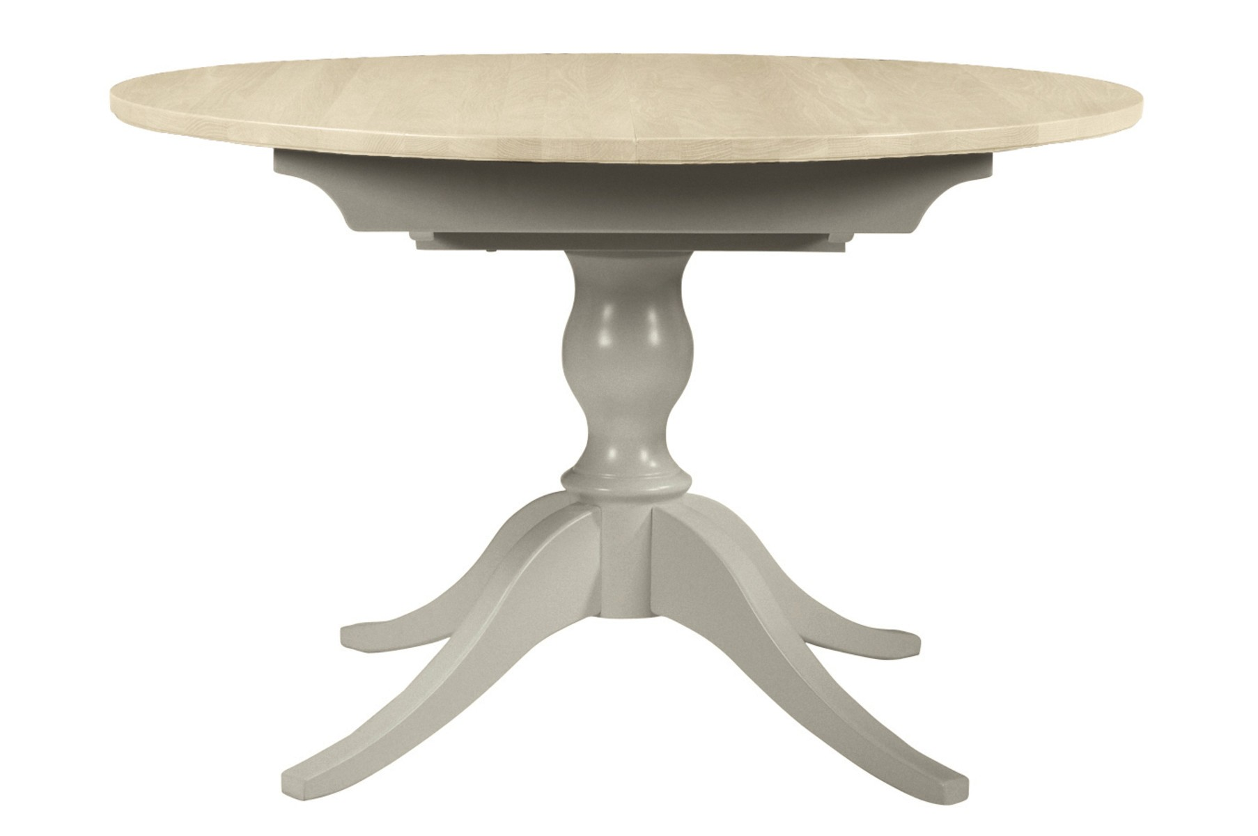 Mesas redondas comedor extensibles top mesa de comedor for Mesa circular extensible
