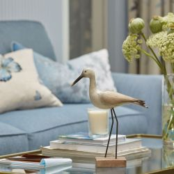pájaro decorativo pintado