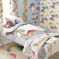 cortinas confeccionadas Dinosaurs