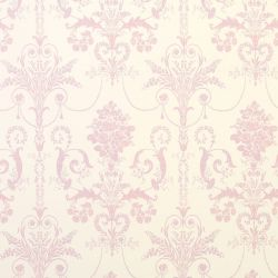 papel pintado Josette rosa encarnadao - Laura Ashley