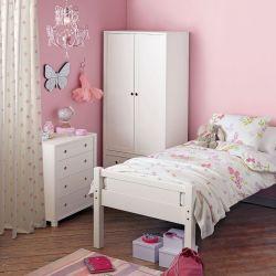 tejido cottage sprig rosa