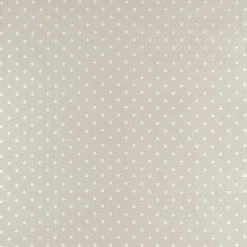 Comprar Tejido Plastificado Polka Dot Gris Claro De Dise O