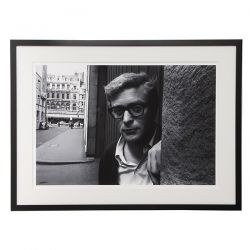 fotografía Michael Caine en blanco y negro, Laura Ashley