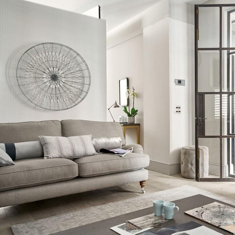Comprar decoraci n de pared met lica woven wire 100cm de dise o laura ashley decoracion - Decoracion metalica pared ...