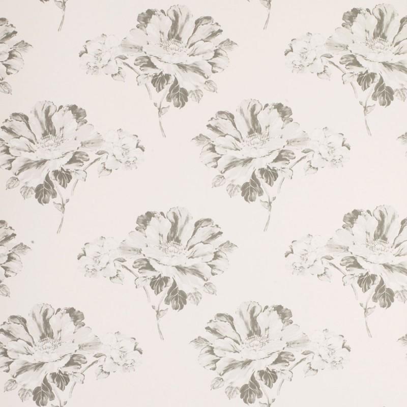 Comprar papel pintado hermione floral hueso y carb n de - Laura ashley papel pintado ...