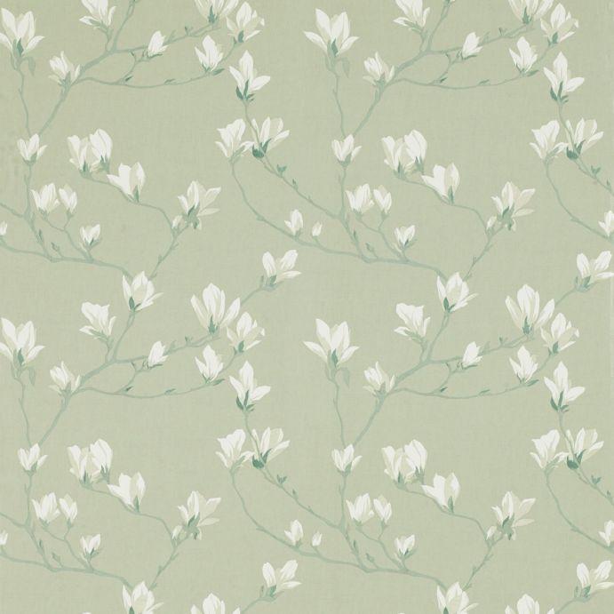 Comprar papel pintado magnolia grove verde seto de dise o - Papel pintado laura ashley ...