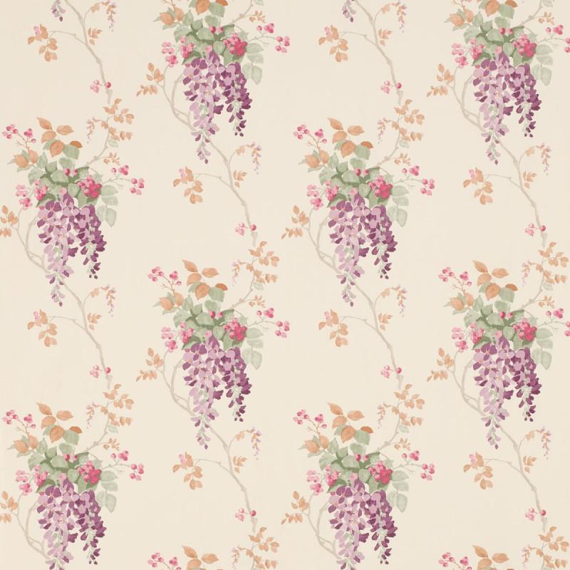 Comprar papel pintado wisteria uva de dise o laura - Laura ashley papel pintado ...