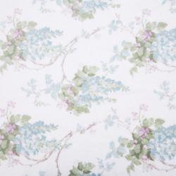 Toallas estampadas de flores Wisteria azul verdoso, Laura Ashley