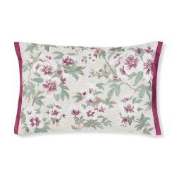 cojín de flores bordadas Rosamond arándano, Laura Ashley