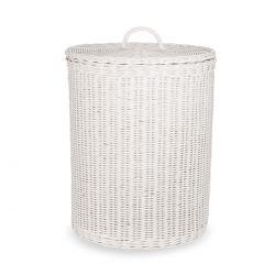 cesta de ropa sucia blanca, Laura Ashley