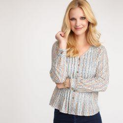 blusa de flores liberty, Laura Ashley