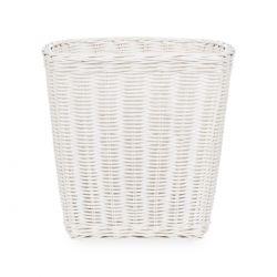papelera de fibra blanco, Laura Ashley