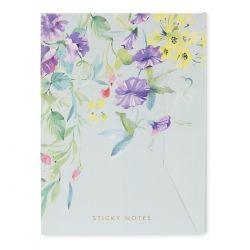 notas adhesivas de flores Laura Ashley