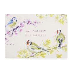 calendario 2018 pájaros, Laura Ashley