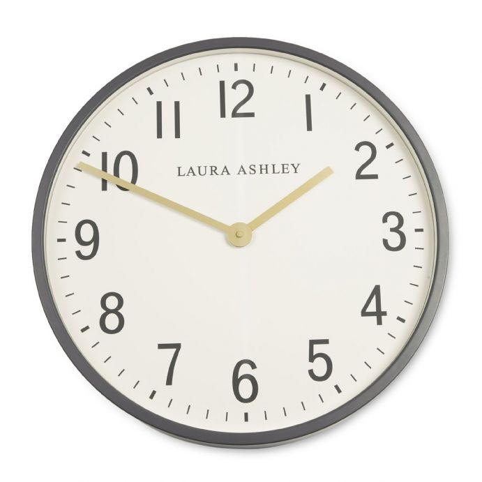 reloj de pared redondo gris