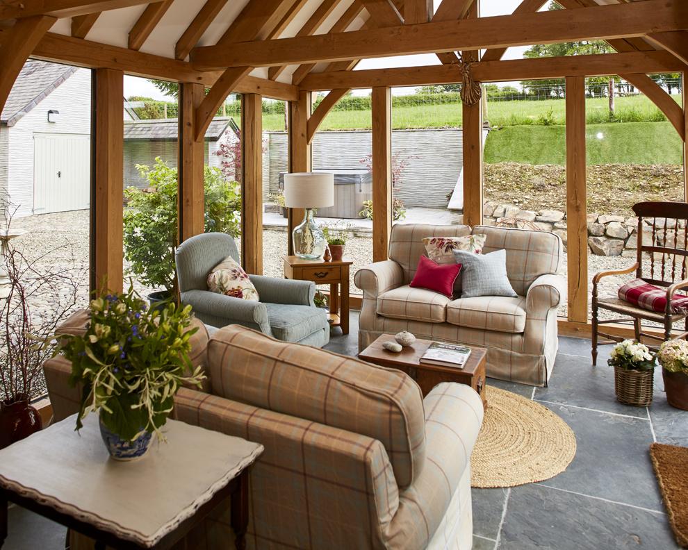 Reforma de una casa de campo, Servicio de Diseño de Laura Ashley