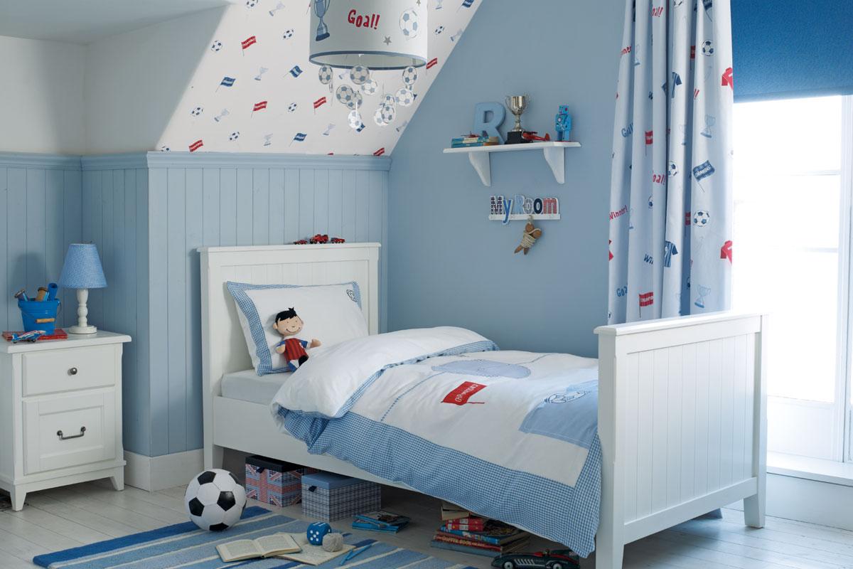 Habitación Football azul