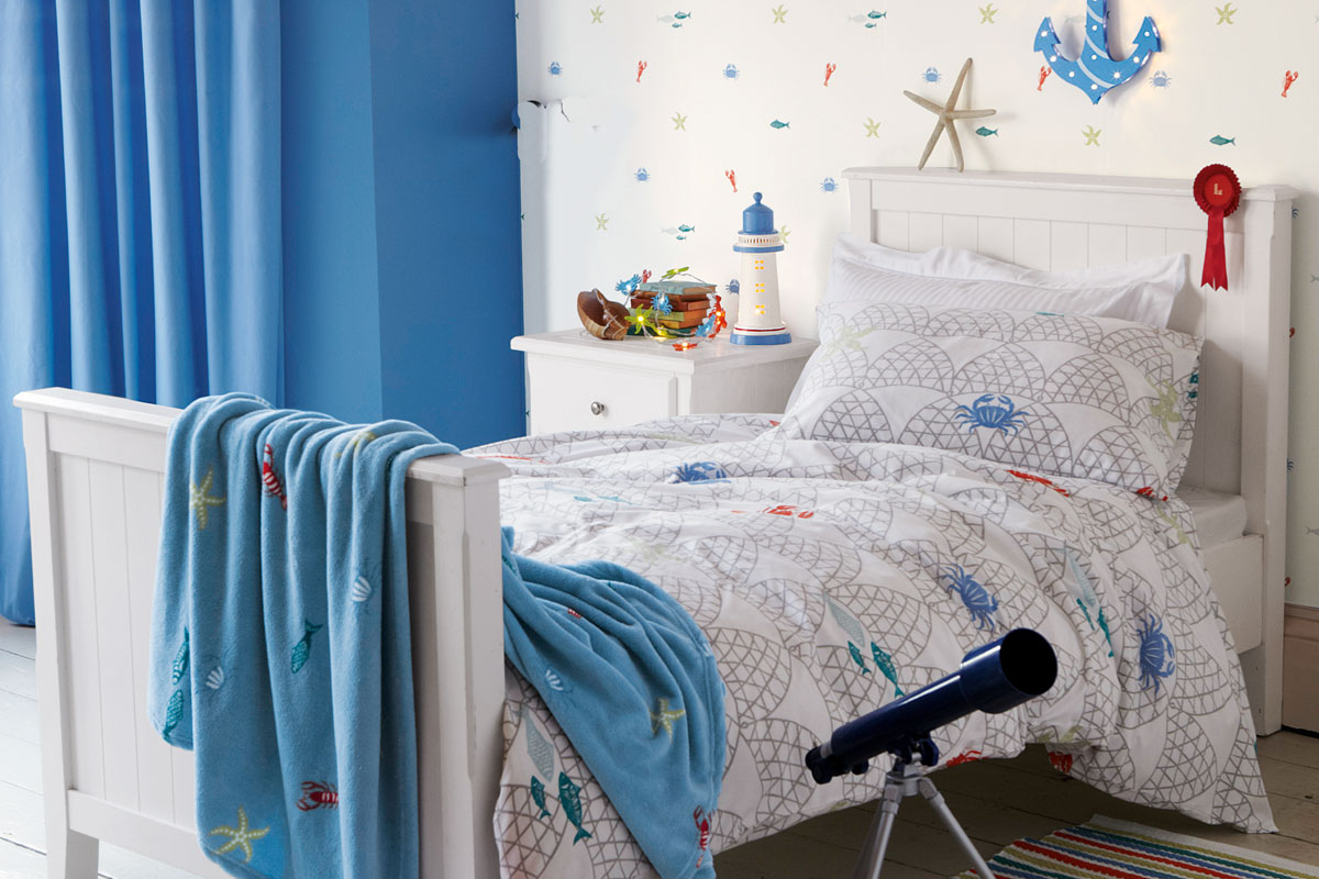 Habitación de langostas para niño