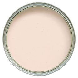 pintura de pared rosa talco