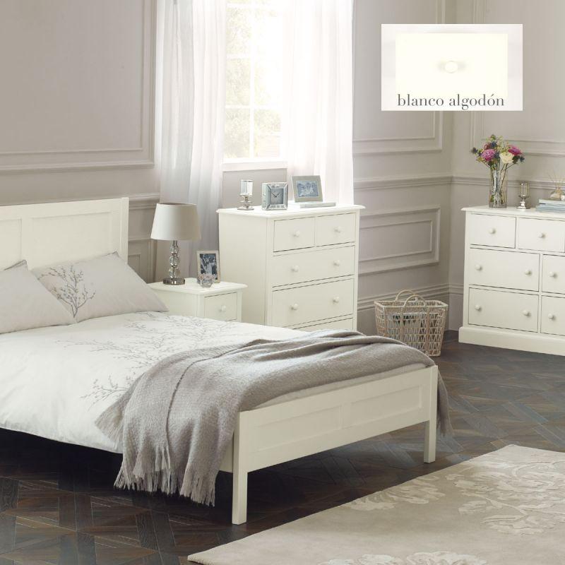 Comprar mesilla ashwell blanco algod n de dise o laura ashley decoracion - Muebles laura ashley ...