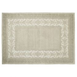 alfombra gris de diseño actual